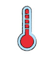 thermometer tool temperature vector image