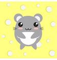 Kawaii mouse vector image