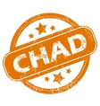 Chad grunge icon vector image