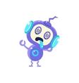 Broken Little Robot vector image