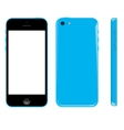 smart phone graphic vector image