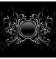 ornamental medallion vector image vector image