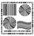 Grey Frame and Circles vector image