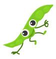 peas icon cartoon style vector image