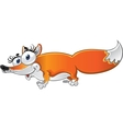 Cheerful Fox vector image