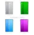 glass elegance vector image