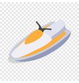Jet ski isometric icon vector image