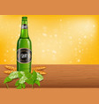 realistic beer products ad 3d vector image