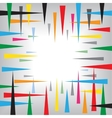 Needle abstract background vector image vector image