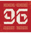 T shirt typography graphic red background vector image