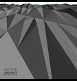 Abstract mountain landscape background vector image