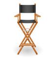 director cinema chair stock vector image