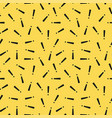 retro memphis pattern - seamless background vector image