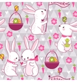 Easter concept seamless pattern in vector image