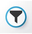 filter icon symbol premium quality isolated vector image
