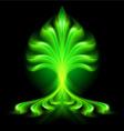 fair flow Green 01 vector image vector image