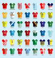 Soccer club Team Wear big set vector image