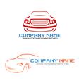 Car company logo vector image