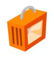 icon pet bag vector image