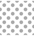 black and white golf ball pattern vector image