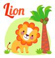LionLetter vector image