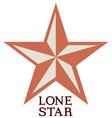 Lone Star vector image