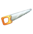 Hand saw vector image