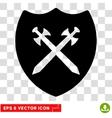 Security Shield Eps Icon vector image