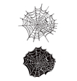 spider webs vector image vector image