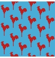 Seamless pattern cock lollipop vector image