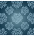 Seamless patterns with lace flowers in Victorian vector image