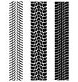 tyre treads vector image