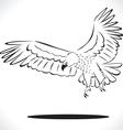 eagle 5 vector image
