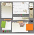 paper design elements vector image