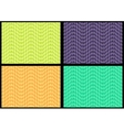 Set of 4 abstract seamless geometric patterns vector image