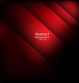 Abstract red background modern line bar design vector image