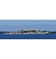 Alcatraz Island vector image
