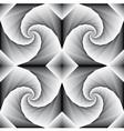 Spiral motion vector image
