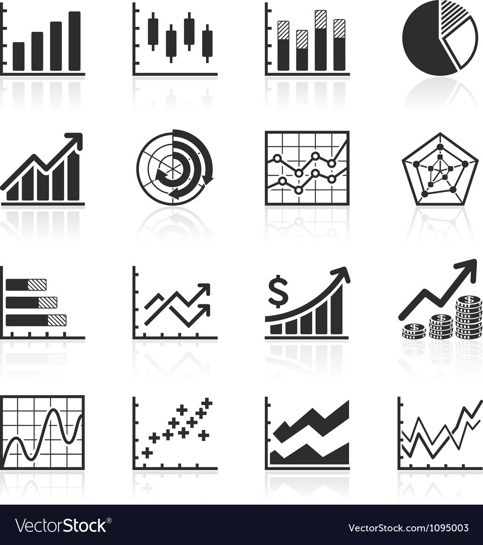 Business infographics icons vector