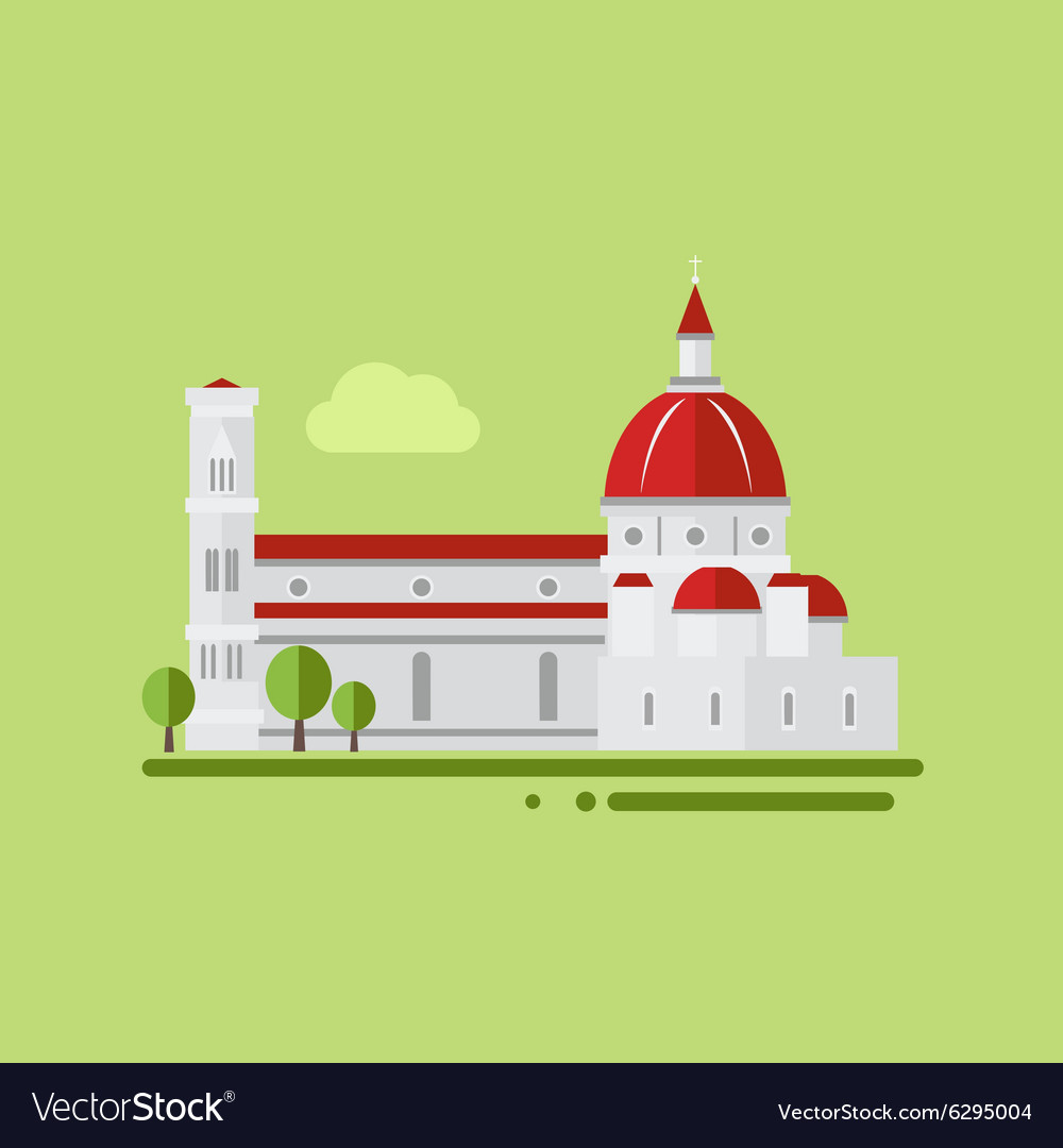 St peter cathedral vector