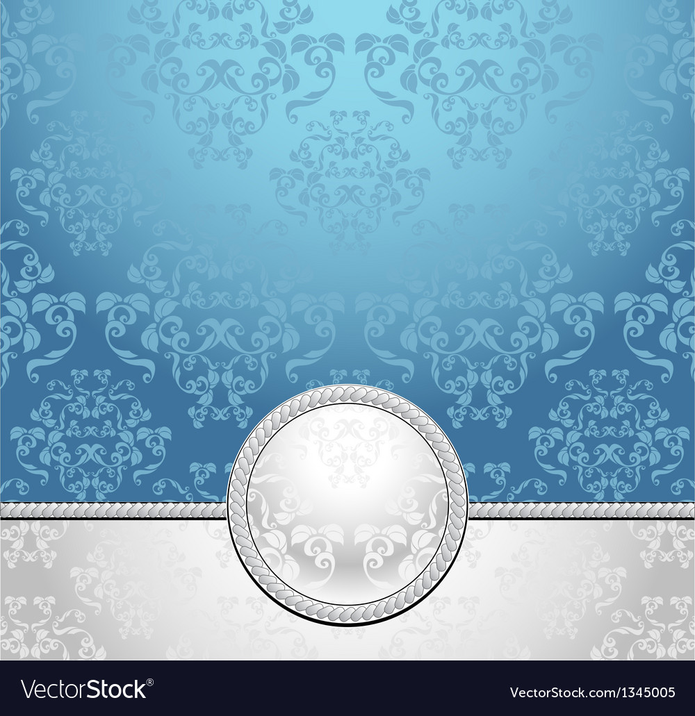 Set seamless patterns with flowers in victorian st vector
