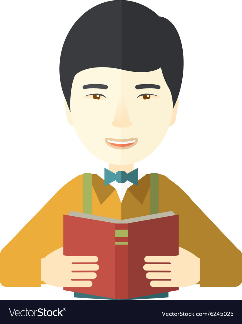 Doctor with book vector