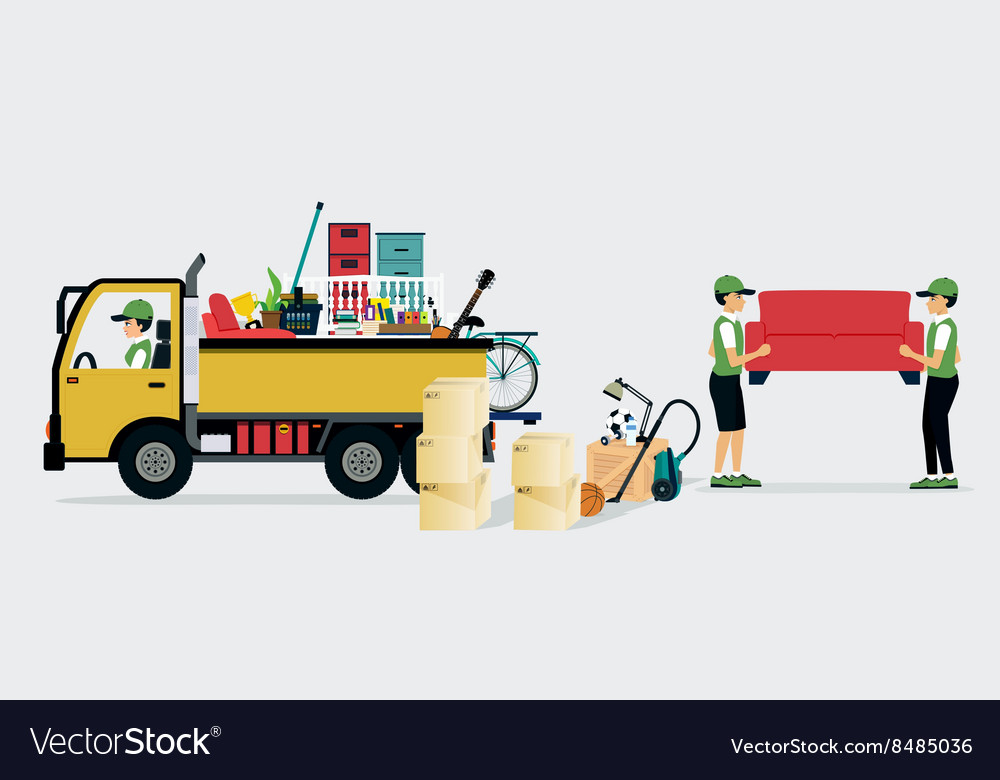 Moving services vector