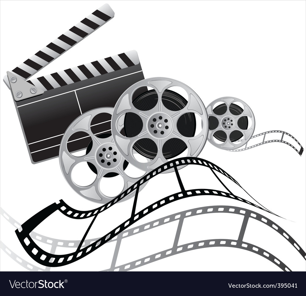 Film set vector