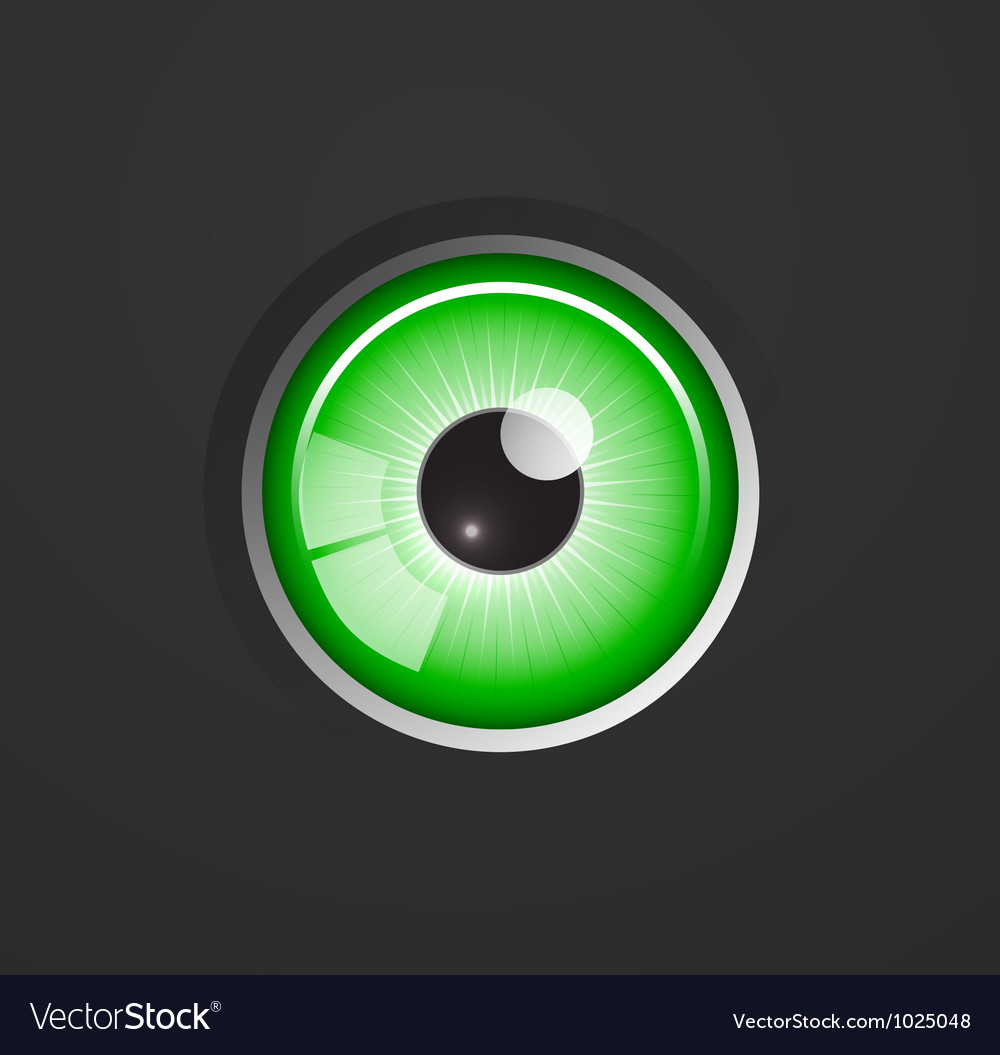 Eye background vector
