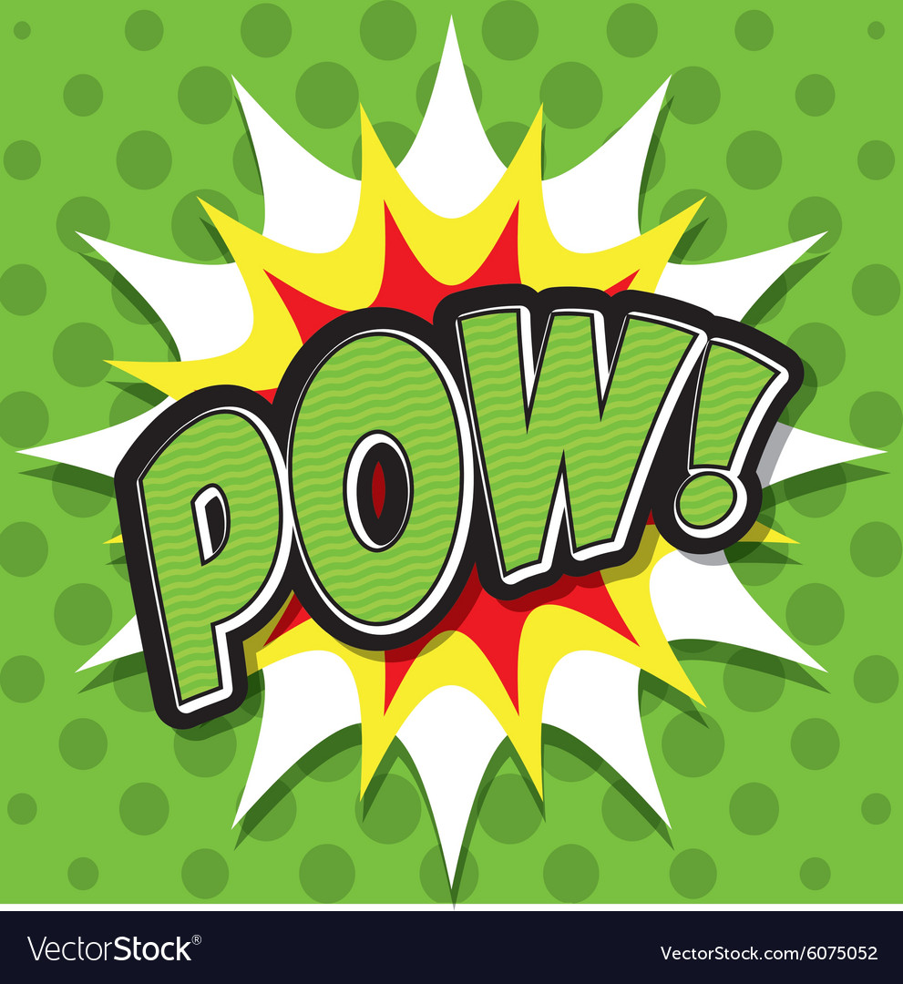 Pop art and comic design vector