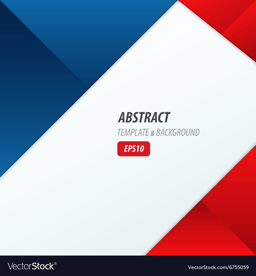 Background dimension modern red blue color vector