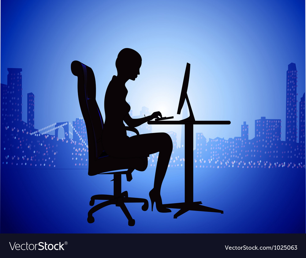 It secretary background vector