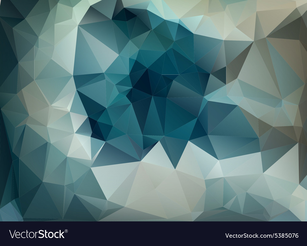 Abstract background of triangles polygon wallpaper vector