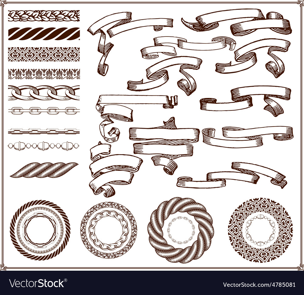 Creation kit 29 elements vector